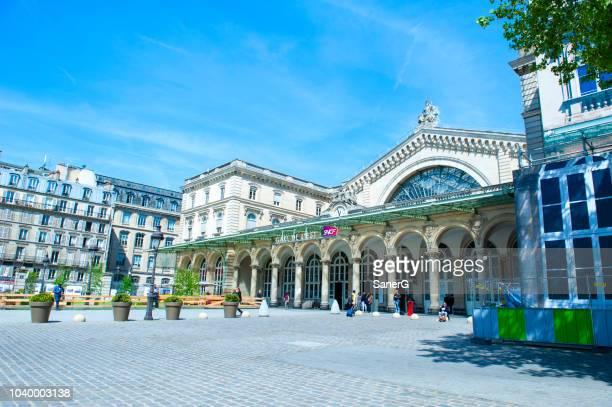 パリ ガル ドゥ レスト - ミュールーズ ストックフォトと画像