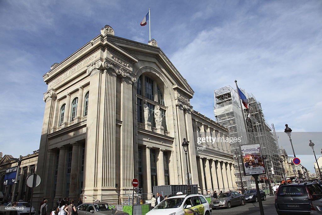 Gare du Nord, Paris : Stock Photo