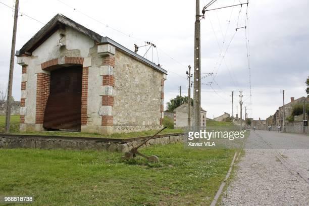 Gare ferroviaire le 16 septembre 2011 OradoursurGlane HauteVienne Limousin Le nom d'OradoursurGlane reste attache au massacre de sa population par la...