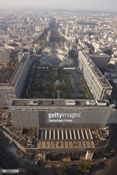 Gare Montparnasse Train Station, Atlantic Gardens, Paris, France