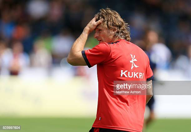 Gareth Ainsworth manager of Wycombe Wanderers