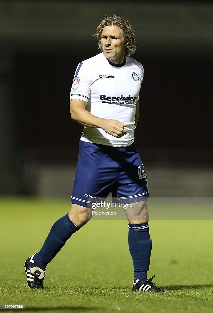 Northampton Town v Wycombe Wanderers - checkatrade.com Trophy