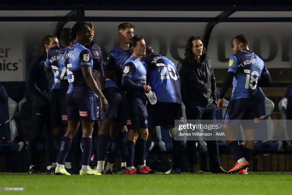 Wycombe Wanderers v Huddersfield Town - Sky Bet Championship : News Photo