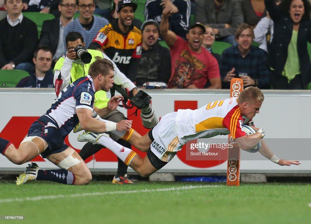 Super Rugby Rd 12 - Rebels v Chiefs