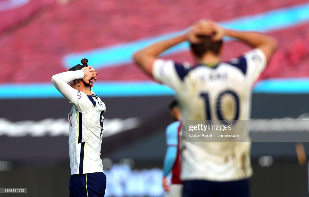 West Ham United v Tottenham Hotspur - Premier League : Nachrichtenfoto