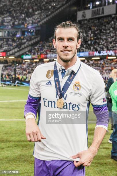 Gareth Bale during Champions League Finals match between Juventus v Real Madrid at Millennium Stadium of Cardiff on june 3 2017