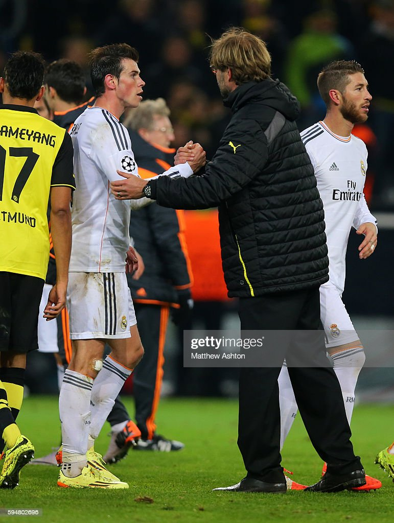 SOCCER : UEFA Champions League - Quarter Final - Second Leg - Borussia Dortmund v Real Madrid : News Photo