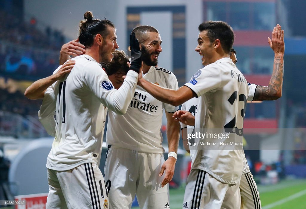 Viktoria Plzen v Real Madrid  - UEFA Champions League Group G : News Photo