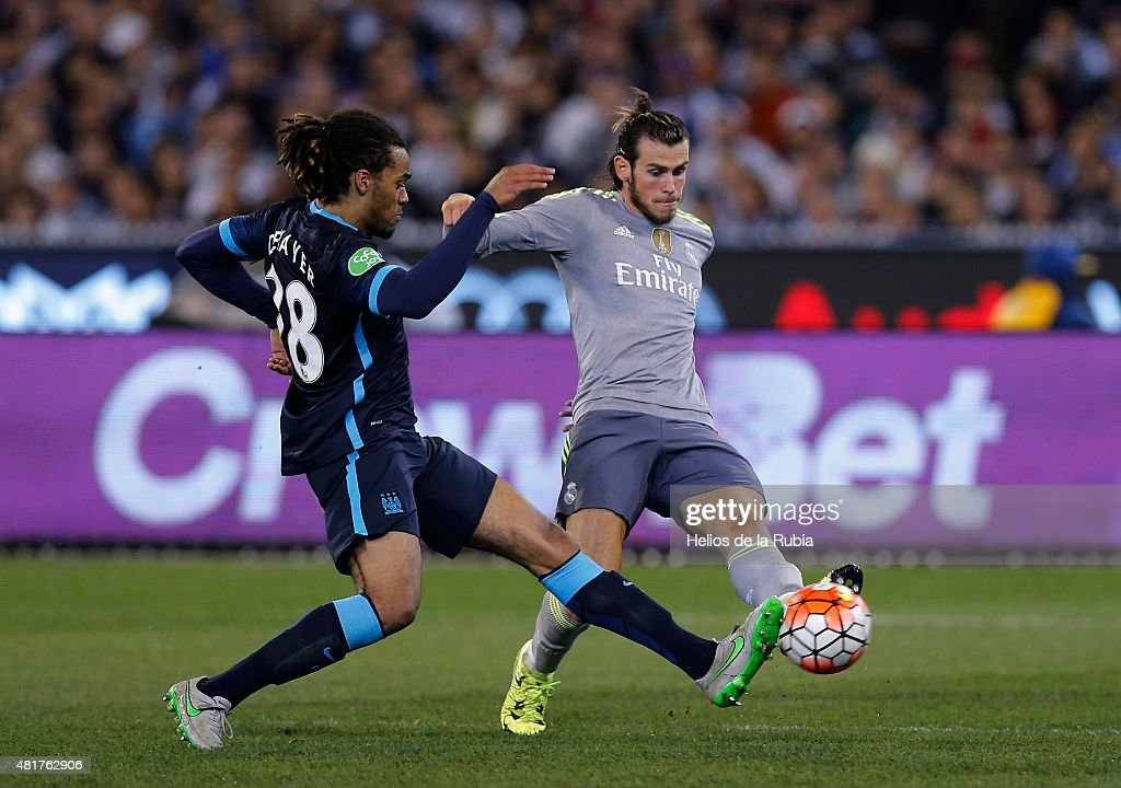 Real Madrid vs Manchester City : News Photo