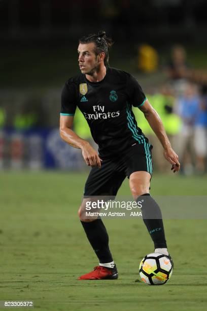 Gareth Bale of Real Madrid during the International Champions Cup 2017 match between Manchester City and Real Madrid at Los Angeles Memorial Coliseum...