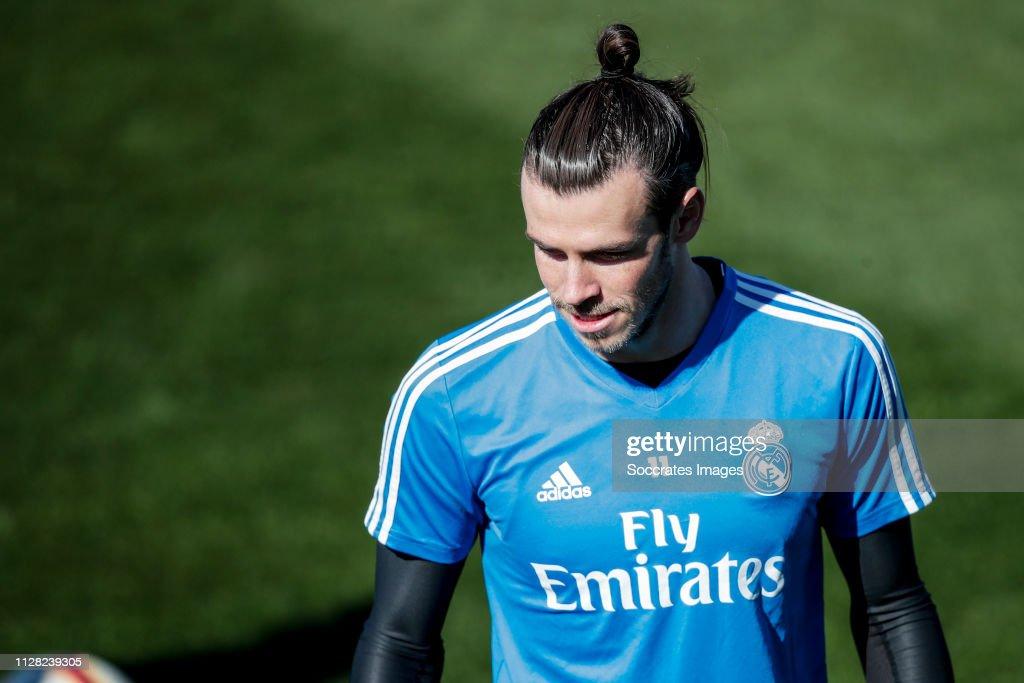 Training Real Madrid : News Photo