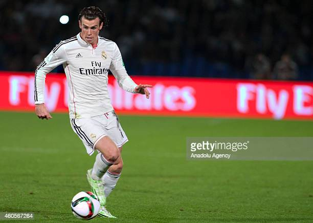 Gareth Bale of Real Madrid in action during the 2014 FIFA Club World Cup semi final football match between Cruz Azul and Real Madrid at the Marrakech...