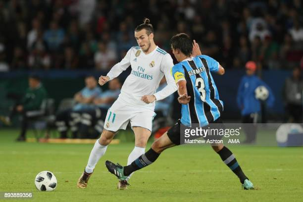 Gareth Bale of Real Madrid in action during the FIFA Club World Cup UAE 2017 final match between Gremio and Real Madrid CF at Zayed Sports City...