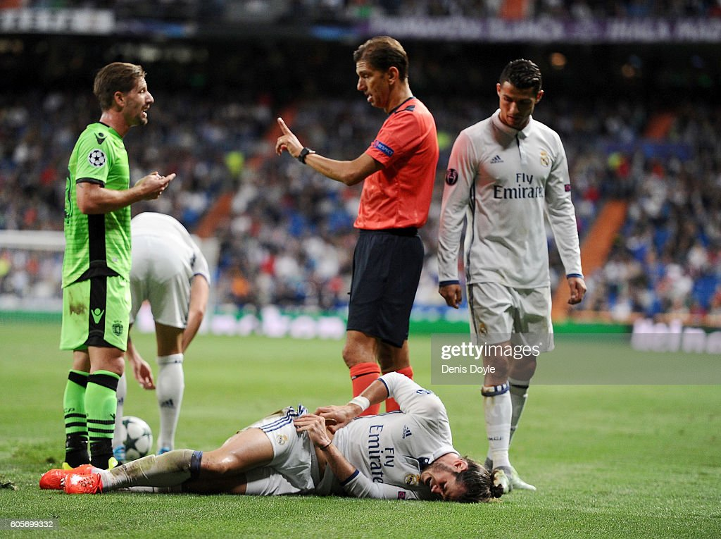 Real Madrid CF v Sporting Clube de Portugal - UEFA Champions League : News Photo