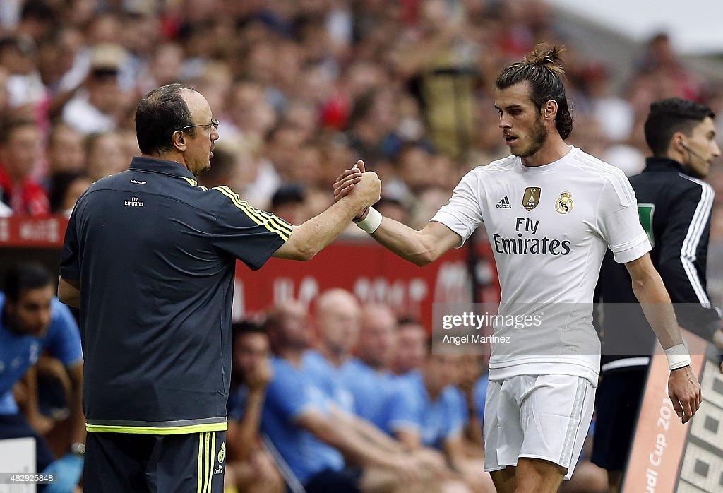 Real Madrid v Tottenham Hotspur - Audi Cup 2015 : Fotografía de noticias