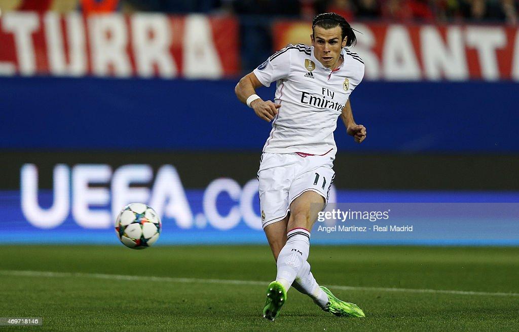 Club Atletico de Madrid v Real Madrid CF - UEFA Champions League Quarter Final: First Leg : News Photo