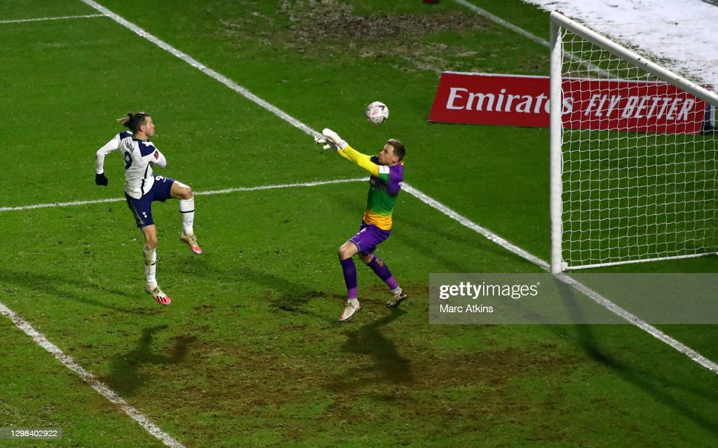Wycombe Wanderers v Tottenham Hotspur: The Emirates FA Cup Fourth Round : ニュース写真