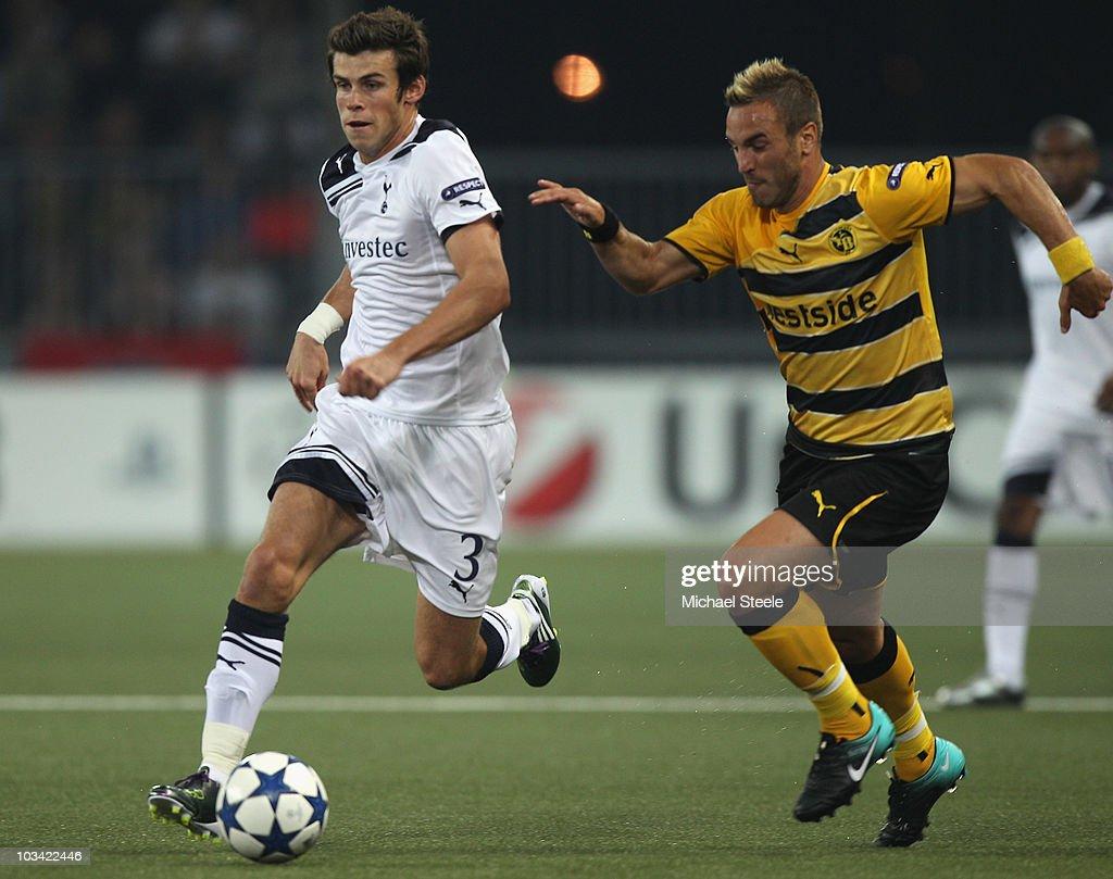 BSC Young Boys v Tottenham Hotspur - UEFA Champions League Qualifying : News Photo