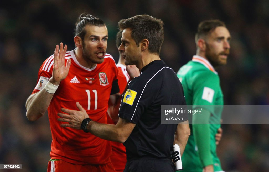 Republic of Ireland v Wales - FIFA 2018 World Cup Qualifier : News Photo