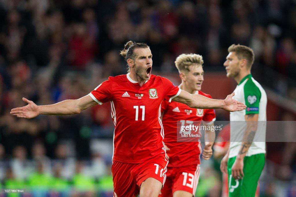 Wales v Republic of Ireland - UEFA Nations League B : News Photo