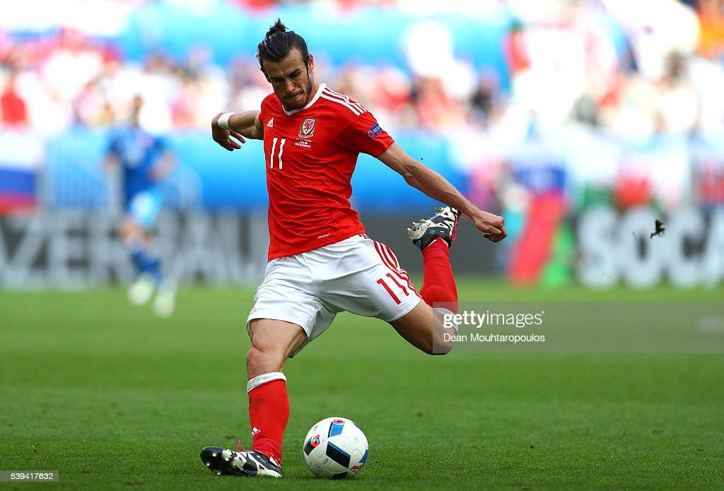 Wales v Slovakia - Group B: UEFA Euro 2016 : News Photo