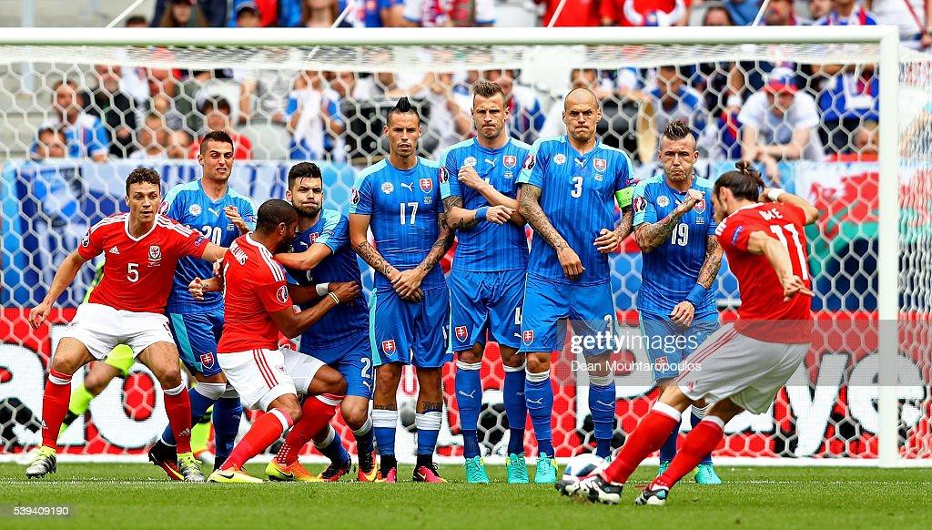Wales v Slovakia - Group B: UEFA Euro 2016 : Nieuwsfoto's