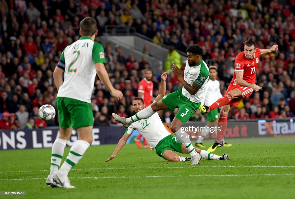 Wales v Republic of Republic of Republic of Ireland - UEFA Nations League B : News Photo