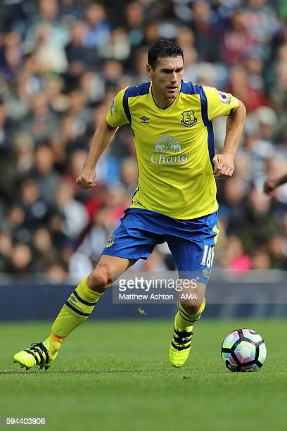 Gareth Barry of Everton during the Premier League match between West Bromwich Albion and Everton at The Hawthorns on August 20 2016 in West Bromwich...