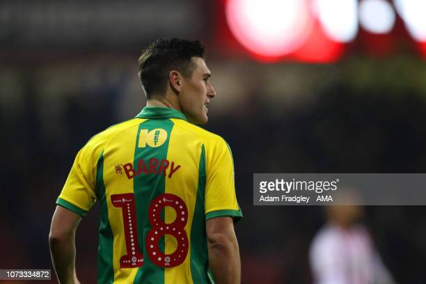 Gareth Barry of West Bromwich Albion celebrates after scoring a goal to make it 11 with Harvey Barnes of West Bromwich Albion during the Sky Bet...