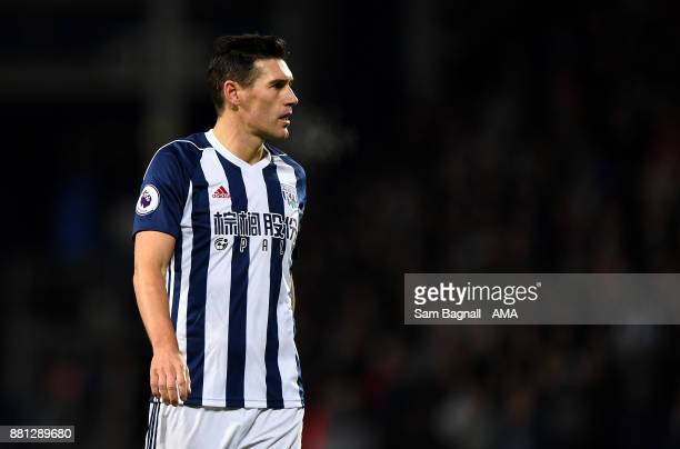 Gareth Barry of West Bromwich Albion during the Premier League match between West Bromwich Albion and Newcastle United at The Hawthorns on November...