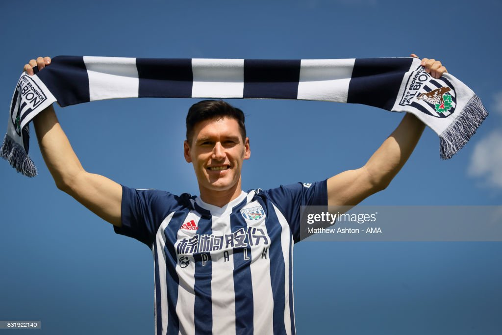 West Bromwich Albion Unveil New Signing Gareth Barry