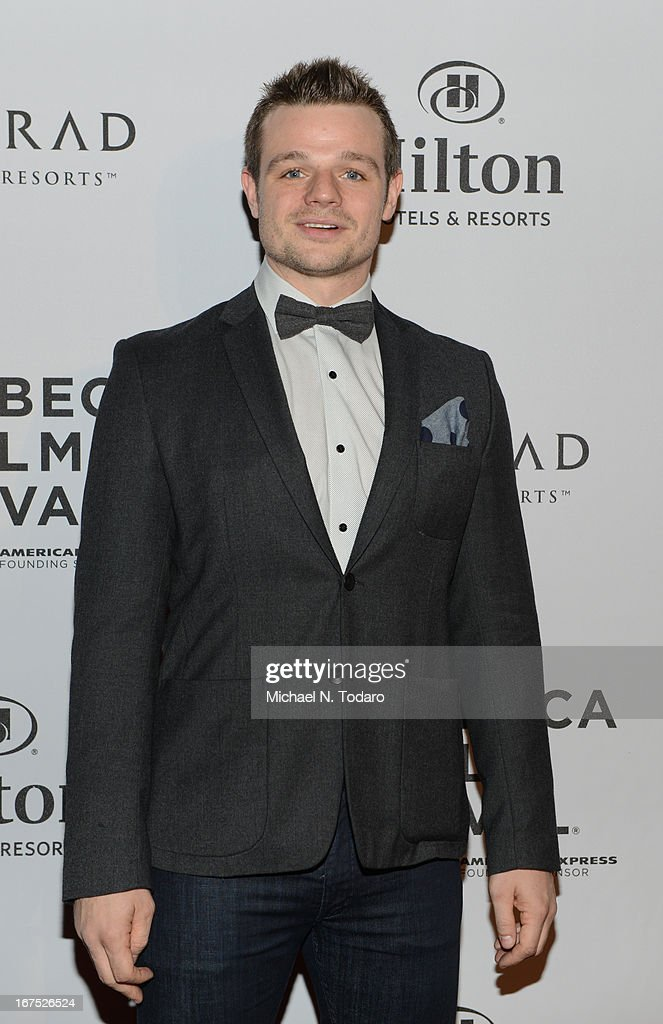 Gareth Baxendale attends the 2013 Tribeca Film Festival Awards at the Conrad New York on April 25, 2013 in New York City.