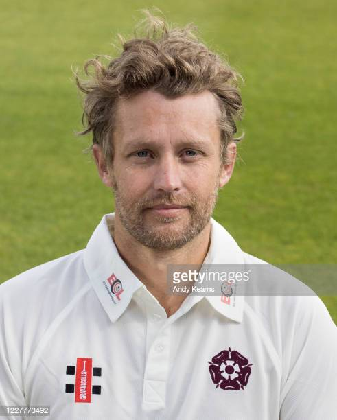 Gareth Berg of Northamptonshire during the Northamptonshire County Cricket Club Photo Shoot at The County Ground on July 10 2020 in Northampton...