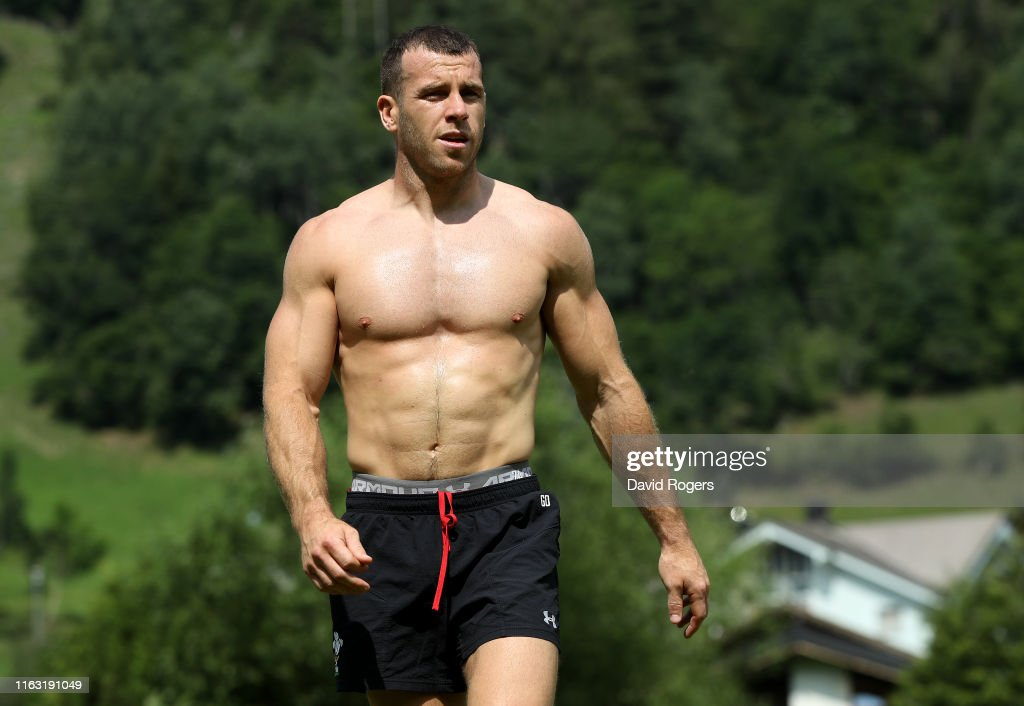 Wales Rugby Training Session : News Photo