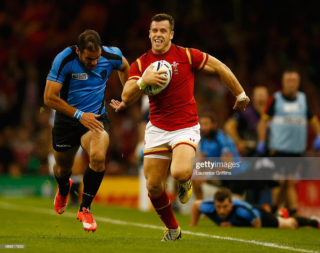 Wales v Uruguay - Group A: Rugby World Cup 2015 : ニュース写真