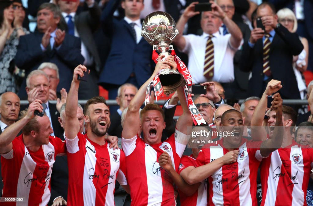 Brackley Town v Bromley FC - The Buildbase FA Trophy Final