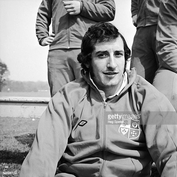 Gareth Edwards a member of the British Lions rugby team set to tour Australia and New Zealand 24th May 1971