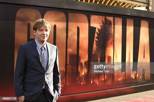 Gareth Edwards arrives at the Los Angeles premiere of 'Godzilla' held at Dolby Theatre on May 8 2014 in Hollywood California