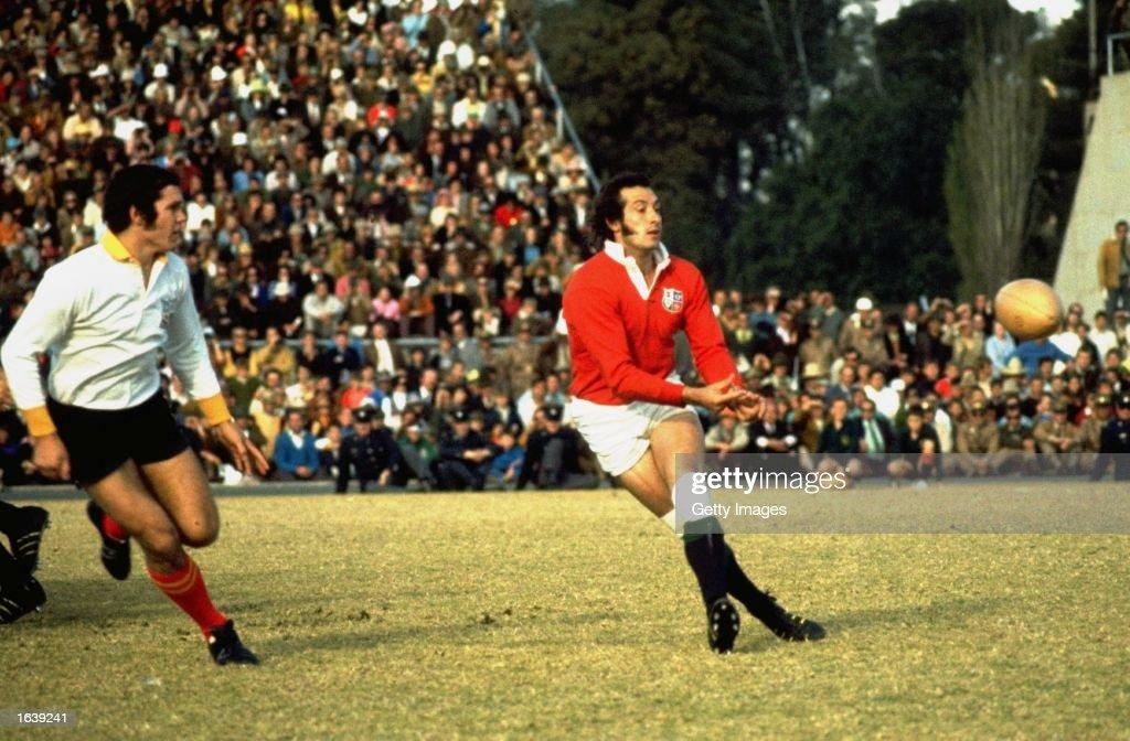 Gareth Edwards of the British Lions : News Photo