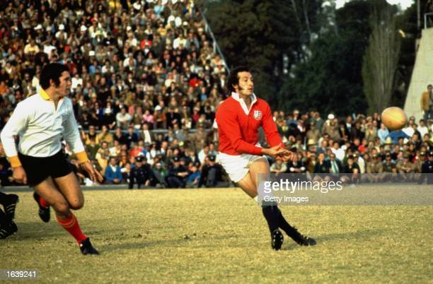 Gareth Edwards of the British Lions in action during the Rugby Lions tour of South Africa South Africa Mandatory Credit Allsport UK /Allsport