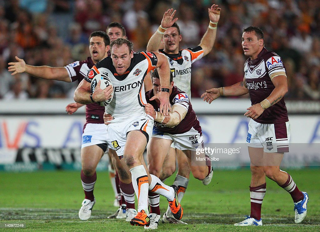 NRL Rd 2 - Sea Eagles v Tigers