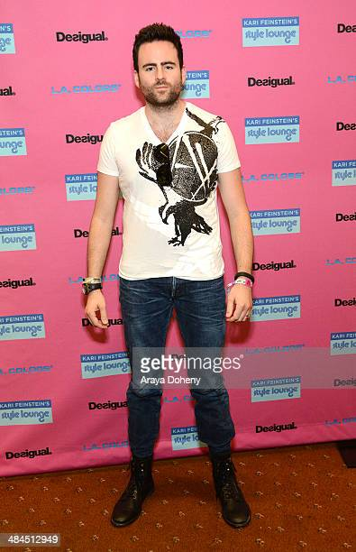Gareth Emery attends the Kari Feinstein Music Festival Style Lounge at La Quinta Resort and Club on April 12 2014 in La Quinta California