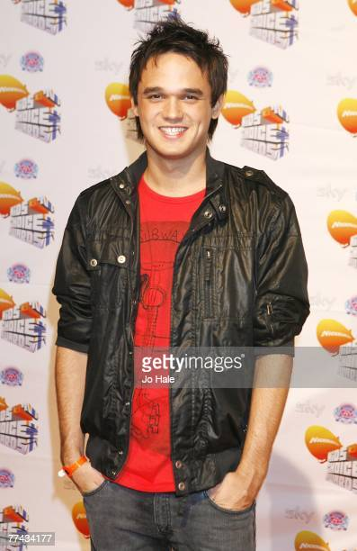 Gareth Gates arrives at the Nickelodeon Kids' Choice Awards at ExCel on October 20 2007 in London