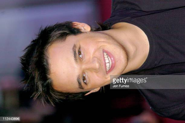 Gareth Gates during The 2004 Brit Awards - Arrivals at Earls Court in London, Great Britain.