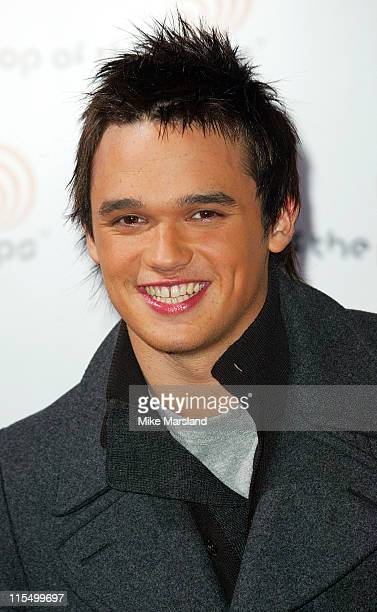 """Gareth Gates during """"Top of the Pops"""" Debut - Arrivals at BBC Television Centre in London, Great Britain."""