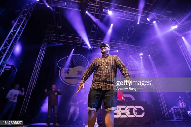 Gareth Kelly of Bad Boy Chiller Crew performs at O2 Academy Leeds on October 09, 2021 in Leeds, England.