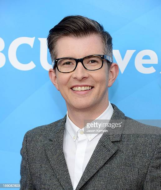 Gareth Malone attends NBCUniversal's 2013 Winter TCA Tour Day 2 at Langham Hotel on January 7 2013 in Pasadena California