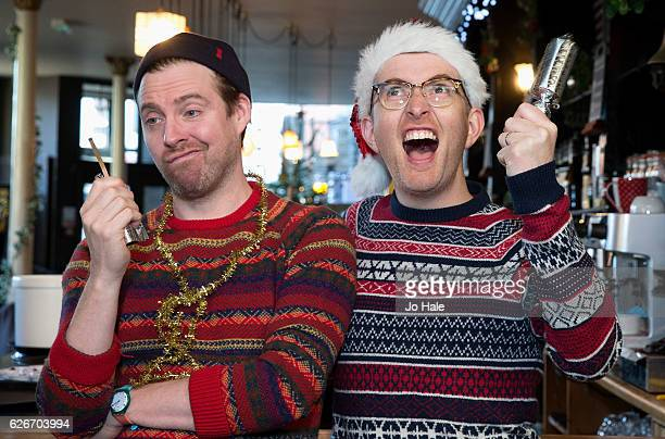 Gareth Malone launches his new album 'A Great British Christmas' with Ricky Wilson suprising local senior citizens with an impromptu Carol SingAlong...