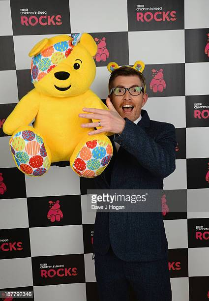 Gareth Malone poses backstage during the 'BBC Children In Need Rocks' at Eventim on November 12 2013 in London England BBC Children In Need Rocks...