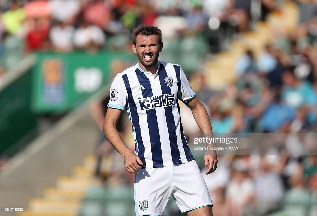 Plymouth v West Bromwich Albion - Pre-Season Friendly : News Photo